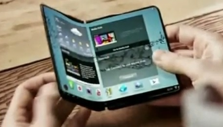 Gadgets - smartphone with curved display