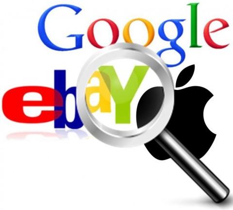 Geolocation - Google, eBay and Apple