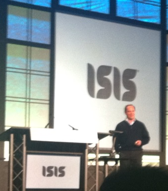 Mobile Payments - CEO of ISIS mike Abbott at Money 2020