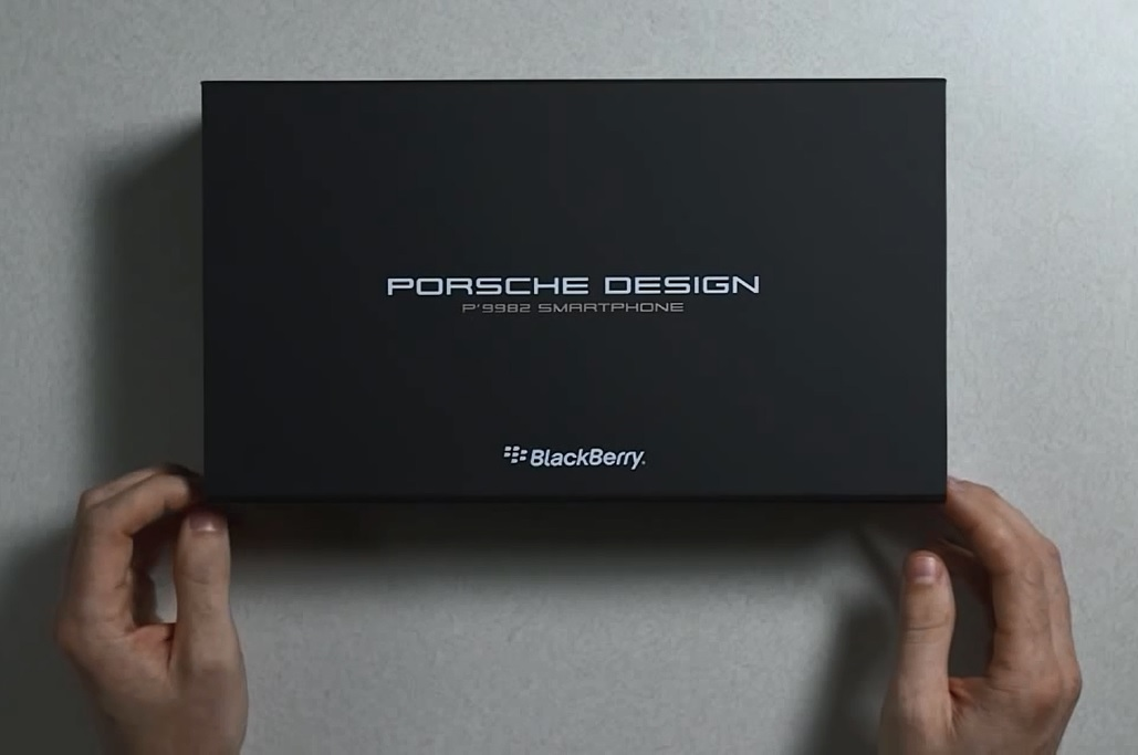Blackberry technology news porsche smartphone