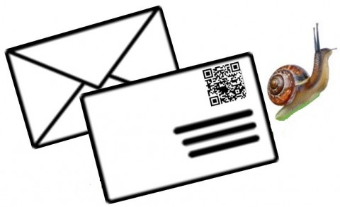 QR Codes on Snail Mail