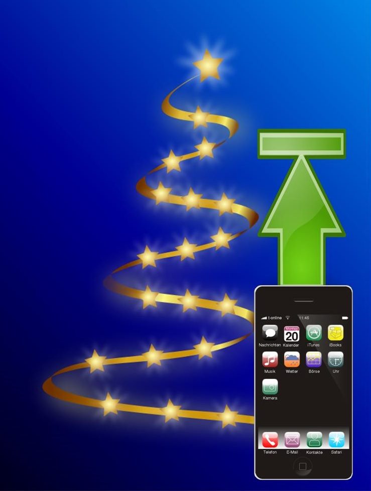 Apple mobile technology strong through holiday shopping