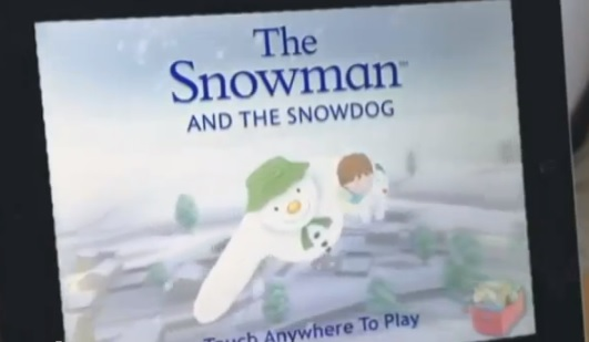 Mobile Gaming - The Snowman and the Snowdog mobile game app