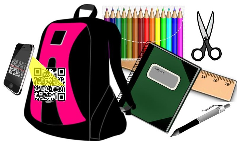 QR Codes - Lost School Items