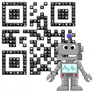 QR Codes - Robot Navigation