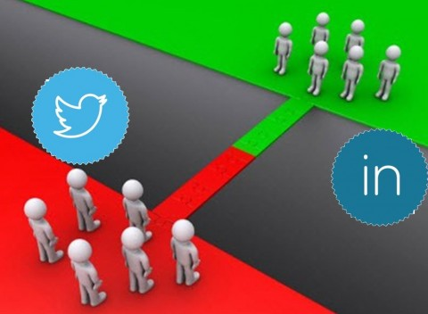 Social Media Marketing - Twitter and LinkedIn differences