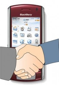blackberry technology news partnership
