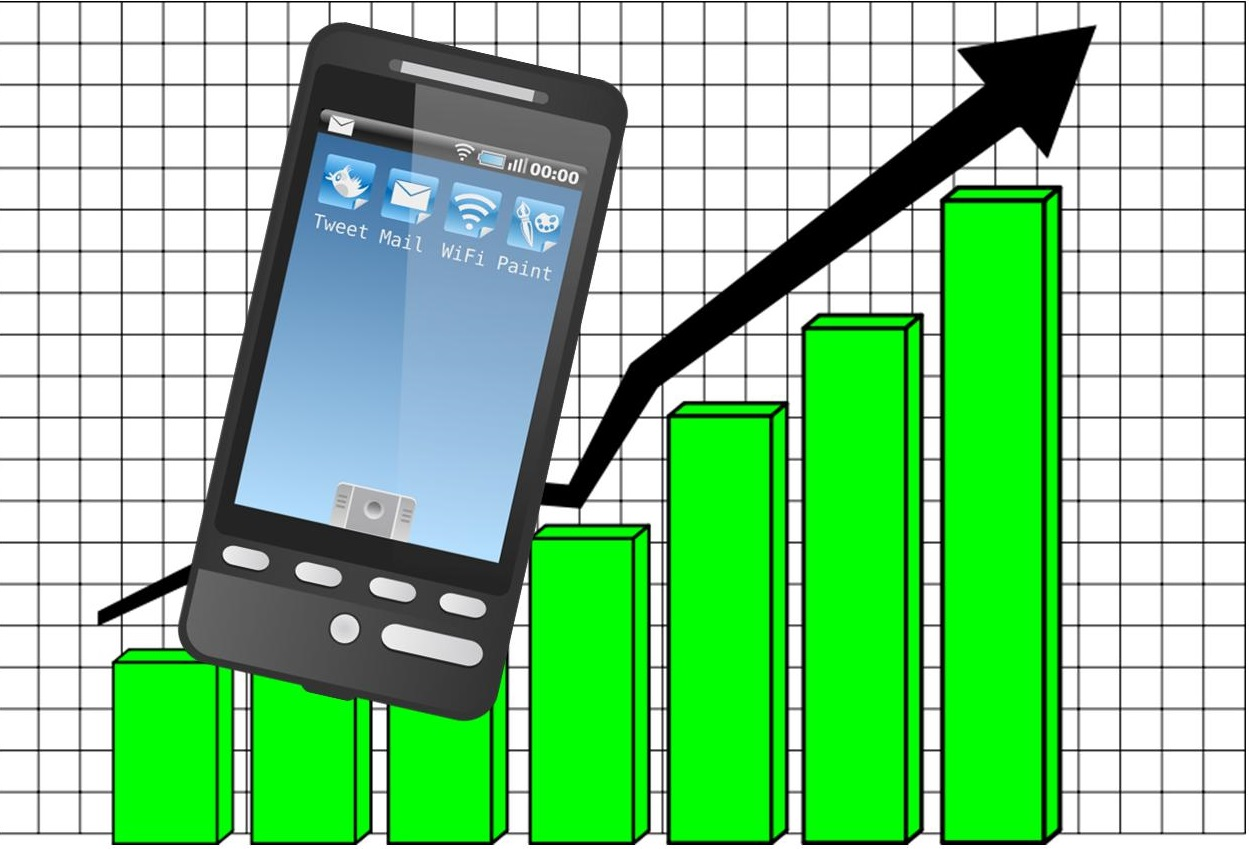 report mobile commerce on rise