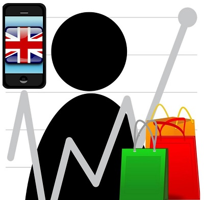 UK Mobile Commerce Sales Go Up