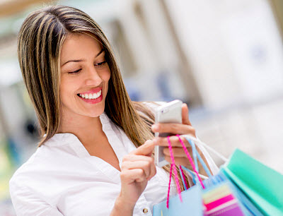 Mobile Commerce - Mobile Shopping excels