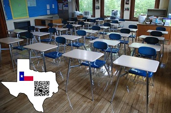 QR Codes Used in Classroom - Texas