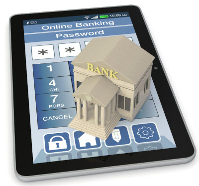 Augmented reality - mobile banking app