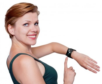 Wearable Technology - girl with smartwatch