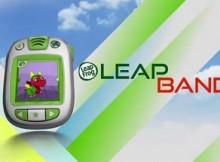 Wearable Technology - LeapFrog LeapBand activity tracker for kids