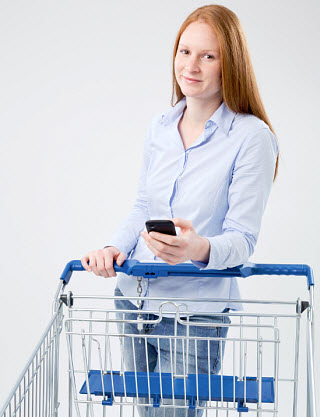 mobile commerce - shopping made easier