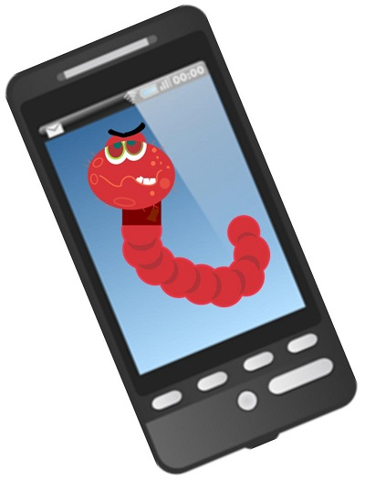 Mobile security worm threat