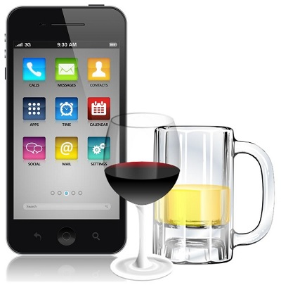 Self-monitoring mobile app for alcohol consumption