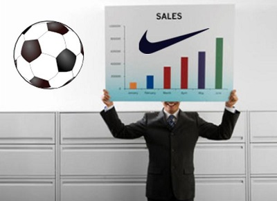 Social Media Marketing - Nike sales spiked by World Cup
