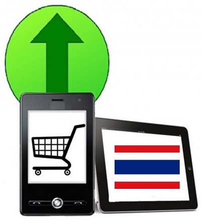 Mobile Advertising - Online shopping Thailand