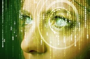 Mobile Security - eye verification technology