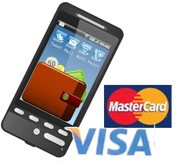 Mobile Wallets - MasterCard and Visa