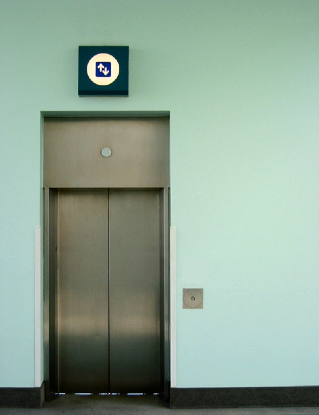 Location based marketing - elevator ads