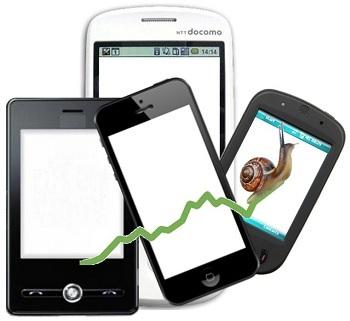 Smartphone market - slow