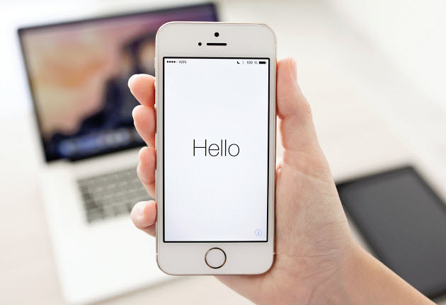 iPhone - Siri voice recognition
