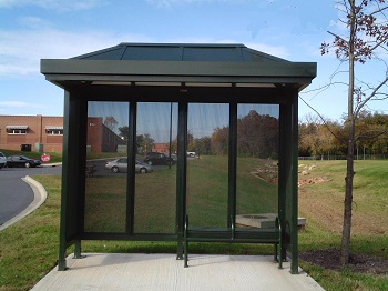 Augmented Reality - Bus Shelter