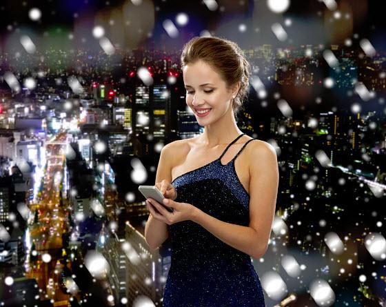 mobile commerce - holiday season