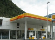 Mobile Payments - Shell Gas Station