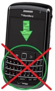 BlackBerry Leap loses keyboard