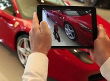 Ferrari Augmented Reality Showroom App