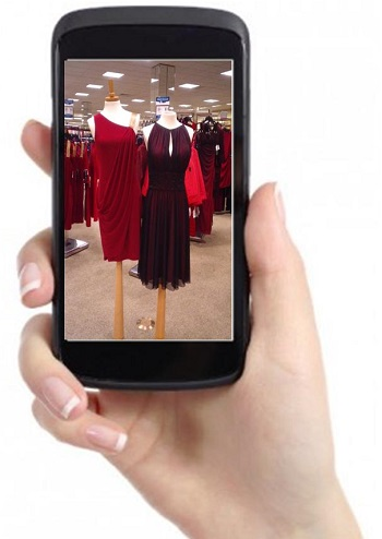 Mobile Shopping for Clothes