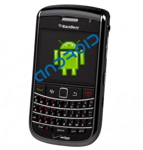 BlackBerry Operating System Could be Android