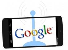 Eddystone - Image of Google Logo & Nexus Phone