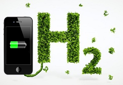Hydrogen Powered Smartphone Battery