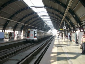 Mobile Ticketing - Image of Delhi Metro