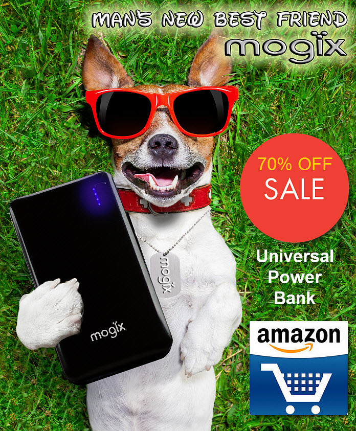 Mogix Slim Fit Power Bank