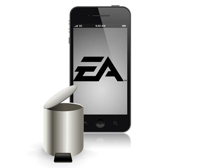 EA Dumps Sevearl Mobile Games