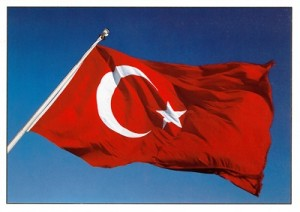 Mobile Commerce - Flag of Turkey