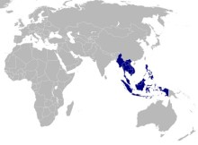 Mobile Payments - Map of the Association of Southeast Asian Nations