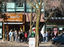 Mobile Ordering - Chipolte Mexican Grill