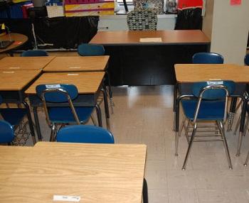Virtual Reality - Image of Classroom