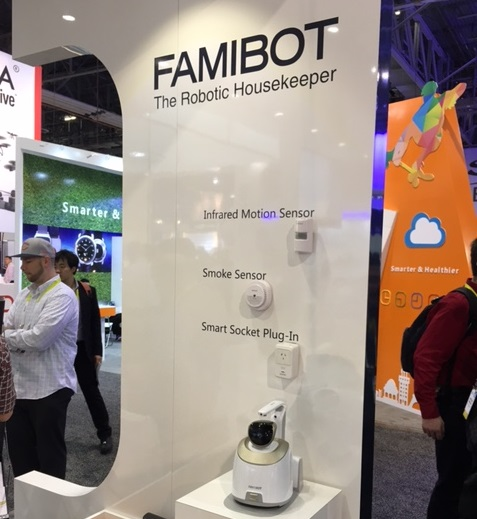 CES 2016 FAMIBOT by ECOVACS