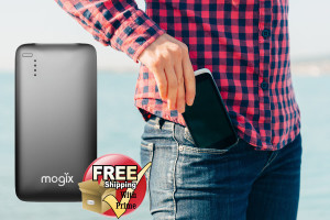 mogix w free shipping portable charger