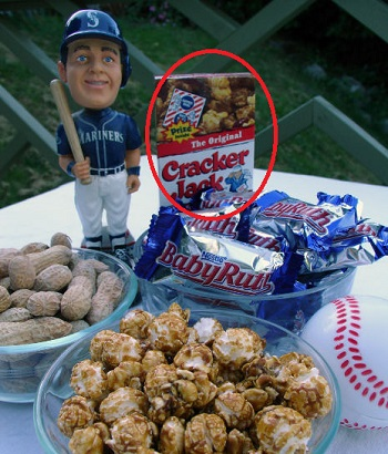 Cracker Jack Mobile Game Codes Prize in Honor of Baseball
