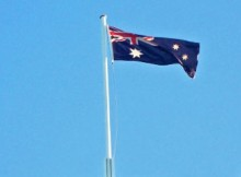 Mobile Technology - Australia Flag