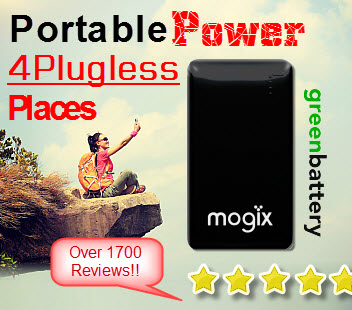 Mogix Portable Charger for Smartphones and Tablets