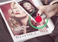 Augmented Reality App from Rimmel